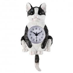 """Часы настенные """"Котенок"""" 11,5х5х24 см"""