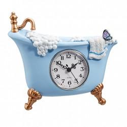 """Часы настенные """"Ванна"""", полистоун, 22х4х14,5 см"""