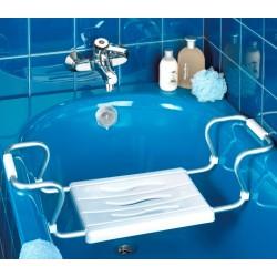 """Сиденье для ванной """"Германика"""" с регулируемой шириной"""