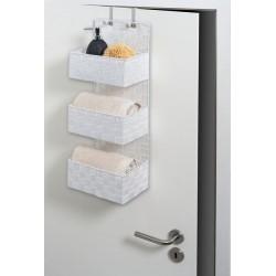 """Органайзер """"Три корзинки"""" для ванной, в двух расцветках"""