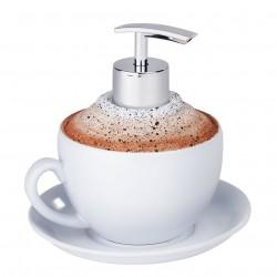 """Мыльница """"Кофе"""" для жидкого мыла, В 13,5 см"""