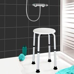 """Табурет для ванной """"Удобство"""" с регулировкой высоты"""