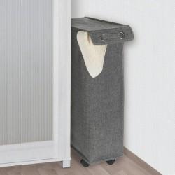 "Корзина для белья ""Комо"" узкая, 18,5х40х60 см, в двух расцветках"