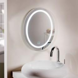 """Зеркало """"Прикосновение"""" настенное, с подсветкой, 33х2х45 см"""